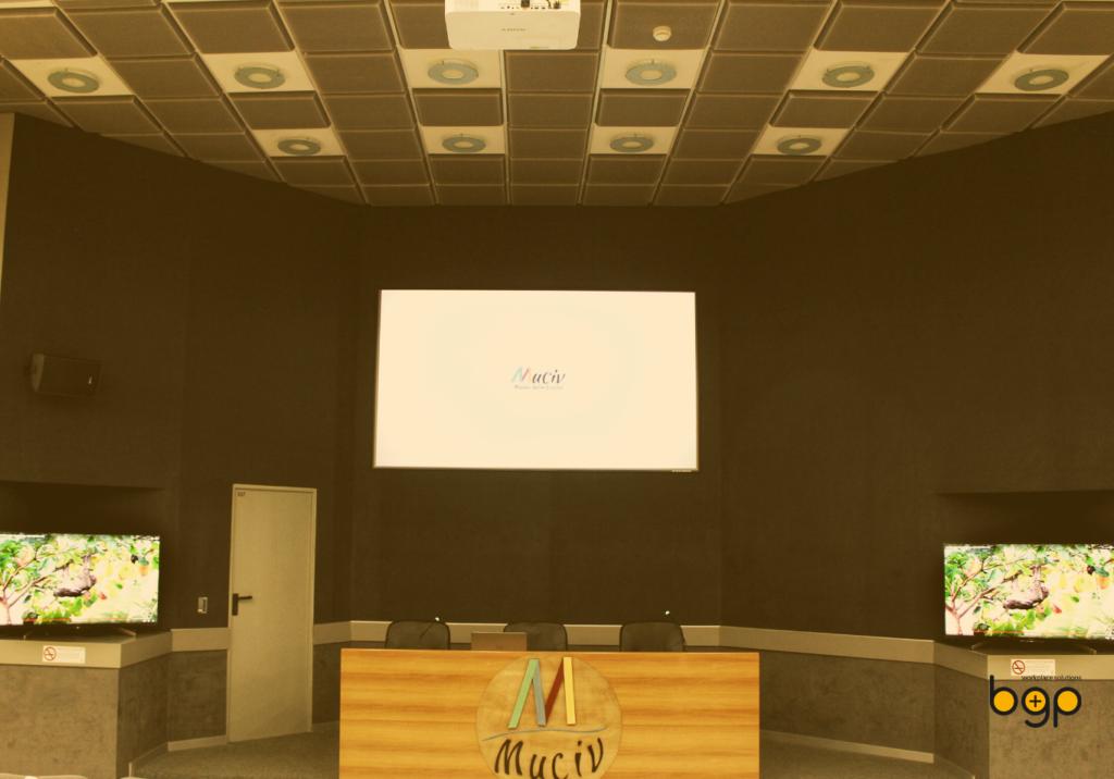 Panoramica della sala del Museo delle Civiltà